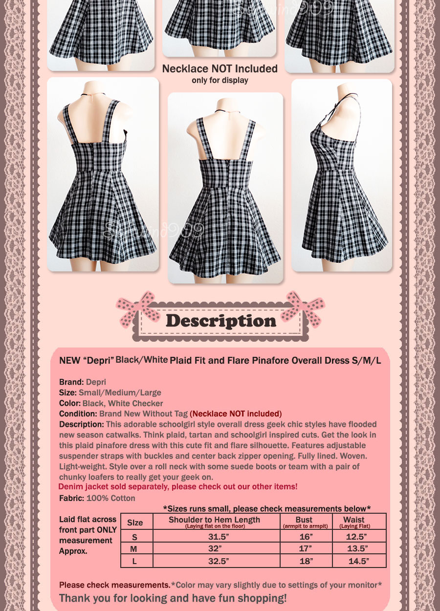 White pinafore apron ebay - Click Here To Check Out My Other Items